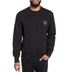 Rag & Bone Crewneck Embroidered Sweatshirt Top
